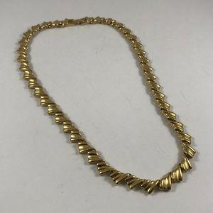Vintage Gold Tone Napier Necklace, Vintage Jewelry